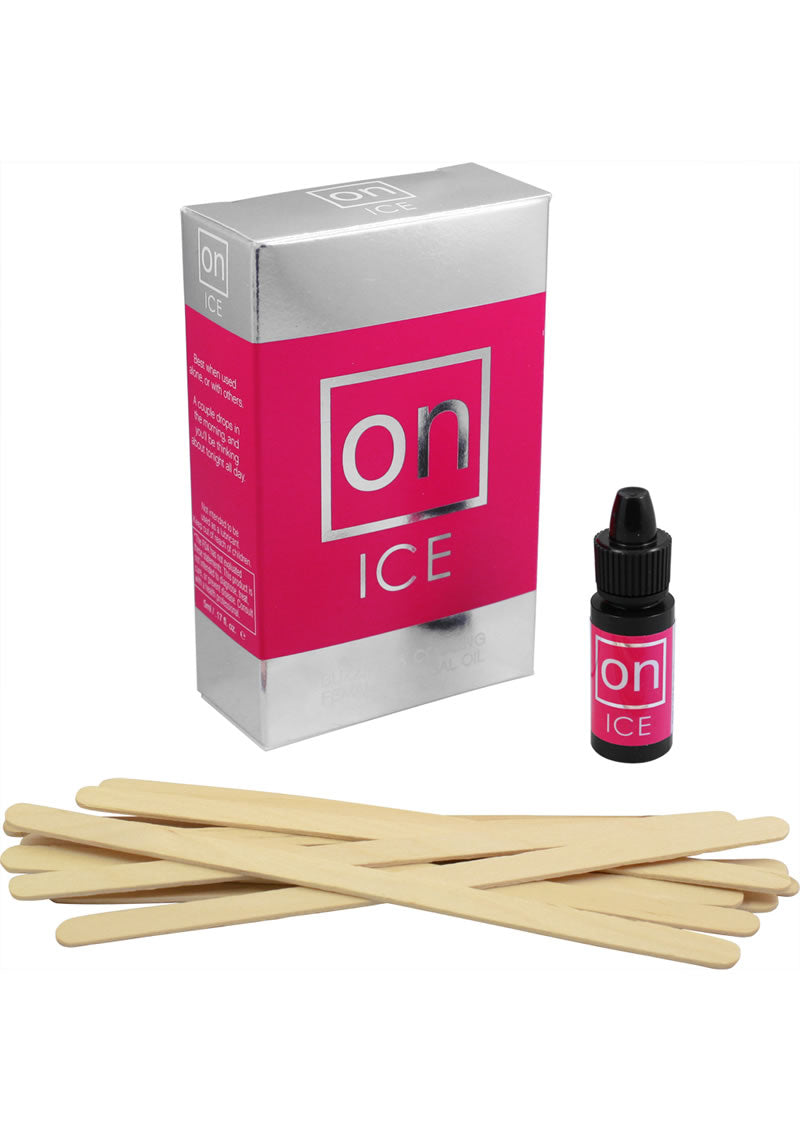 On Ice Female Arousal Refill Kit (12 Per Kit With Tester Sticks)