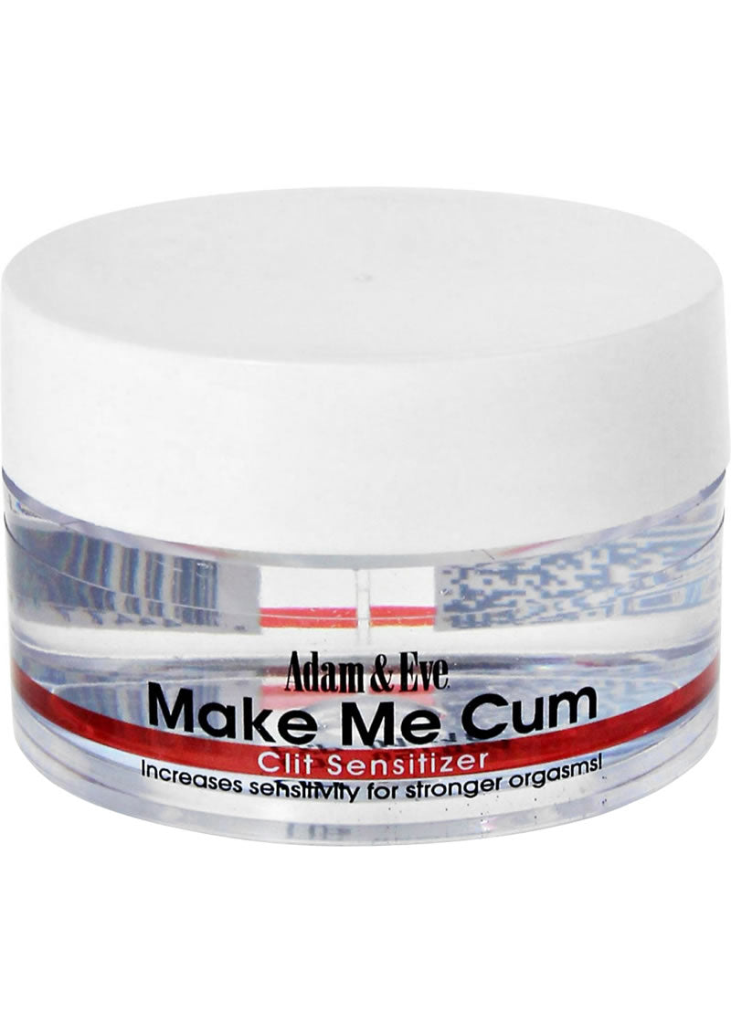 Adam & Eve Make Me Cum Clit Sensitizer Cream .50 Ounce