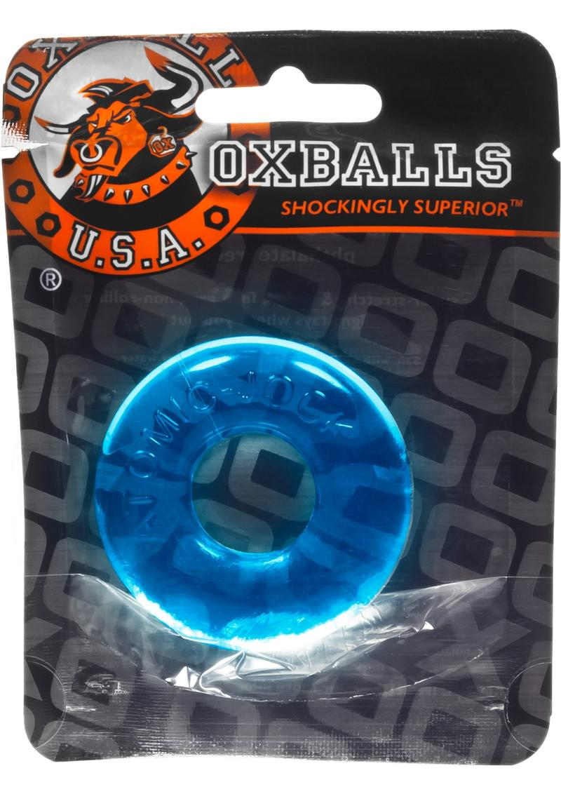 Oxballs Atomic Jock Do-Nut-2 Fatty Cock Ring - Blue
