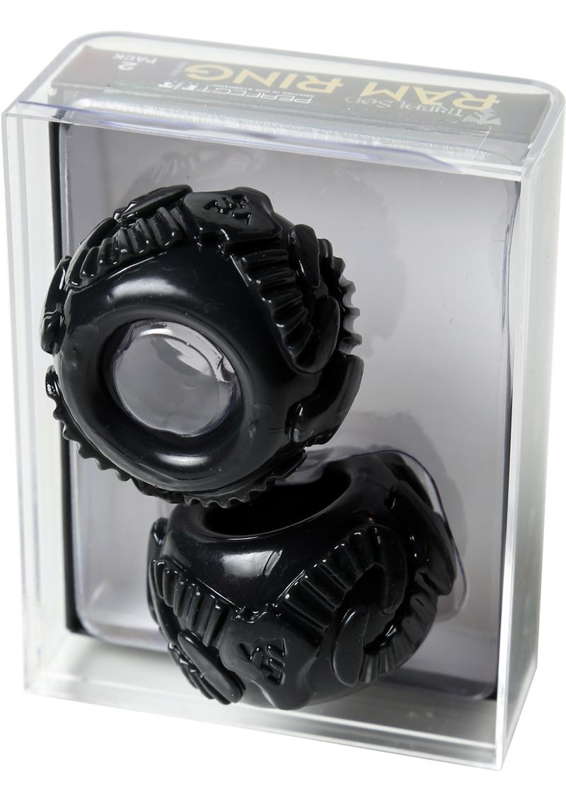 Perfect Fit Tribal Son Ram Ring Double Kit - Black