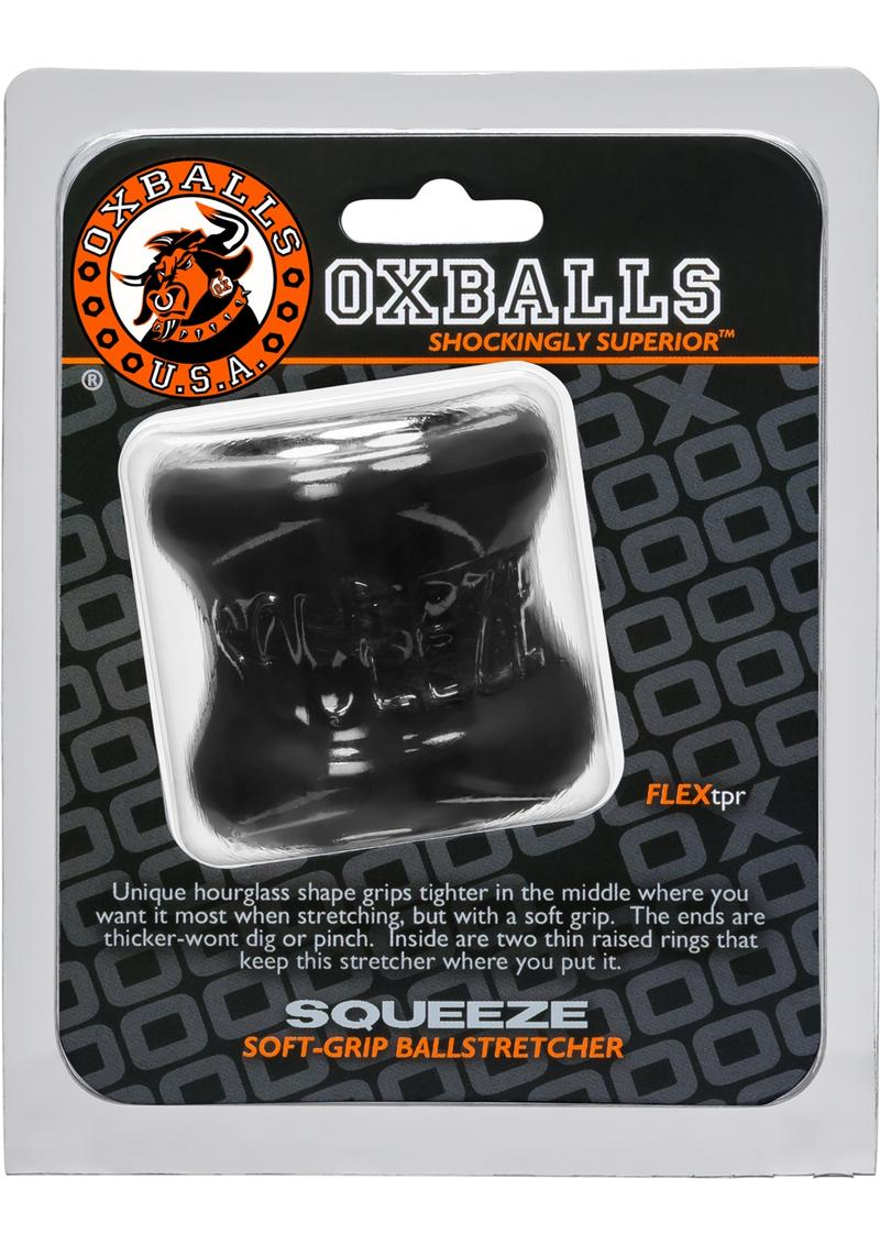 Oxballs Squeeze Ballstretcher Black