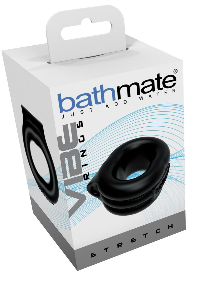 Bathmate Vibe Ring Stretch Black