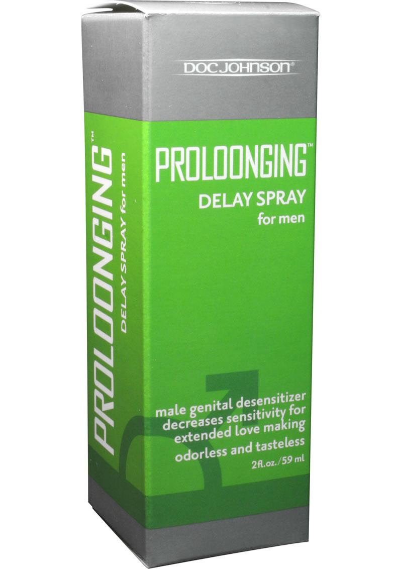 Proloonging Delay Spray For Men (Boxed) 2Oz