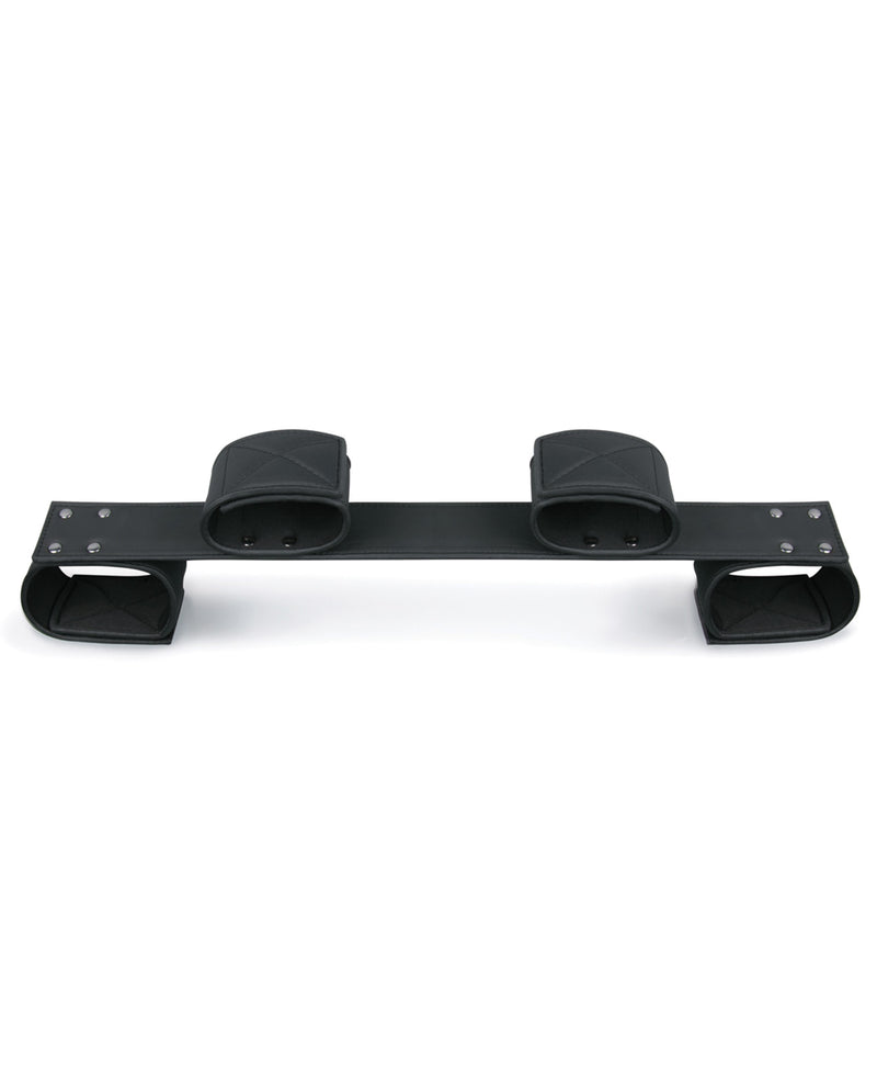 Easy Toys Wrist & Ankle Bondage Bar - Black