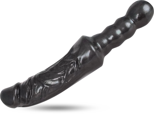 The Warden 14-Inch Firm And Flex Double-ended Dildo