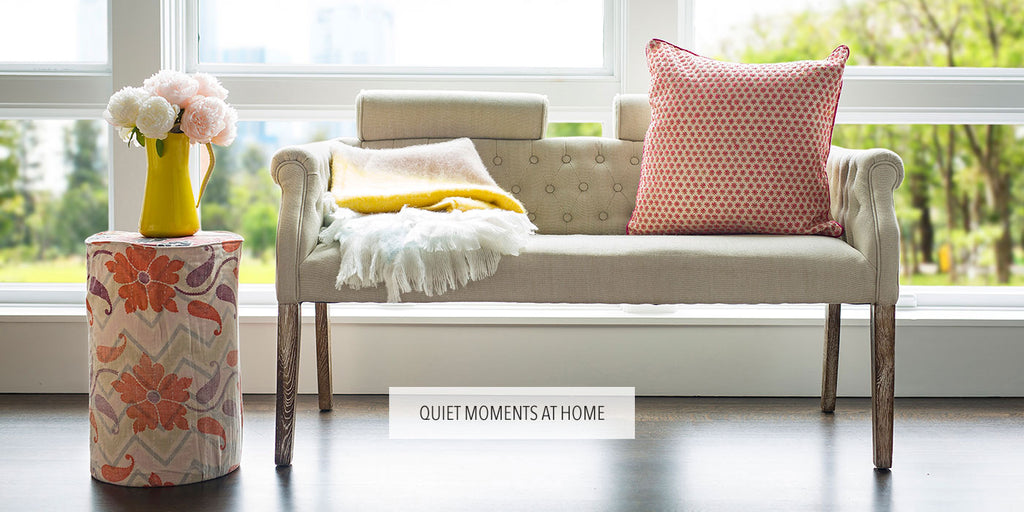 Quiet moments at home