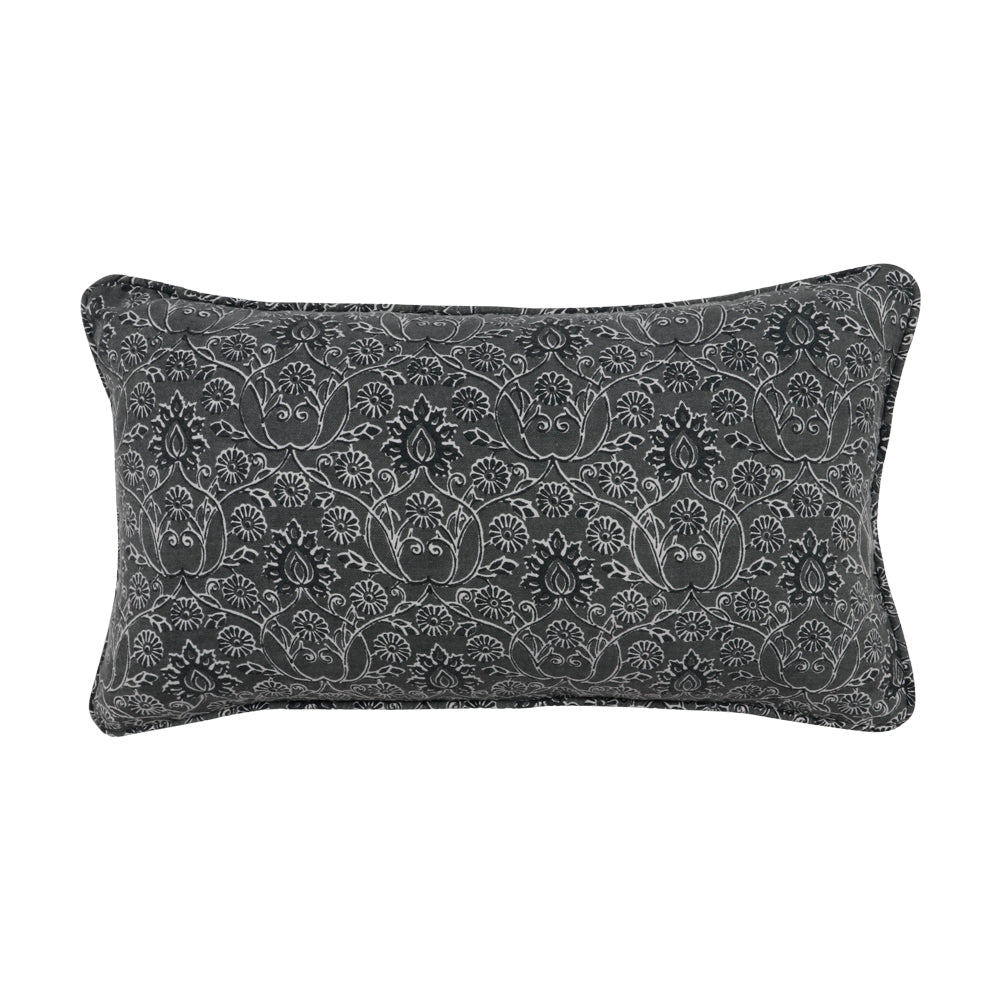 Charcoal Carali Pillow Cover