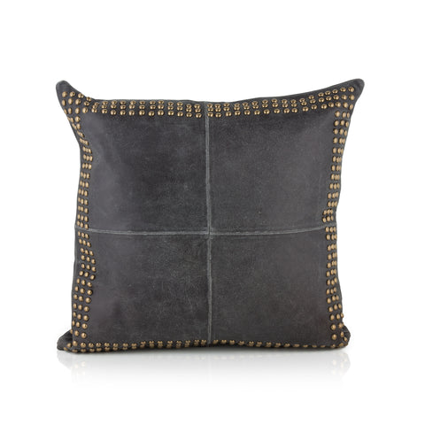 DOHNI, DISTRESSED BLACK/BRASS
