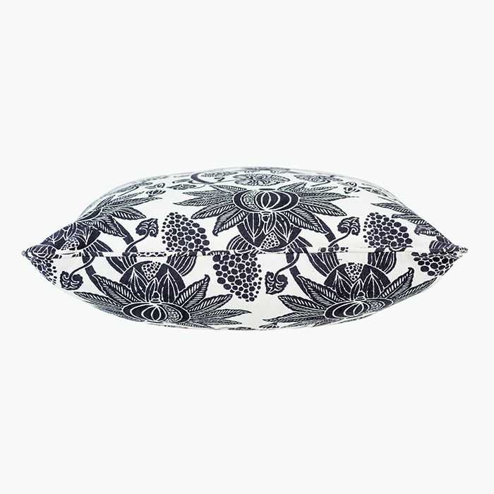 Charcoal Anar Pillow Cover, Eternity Collection