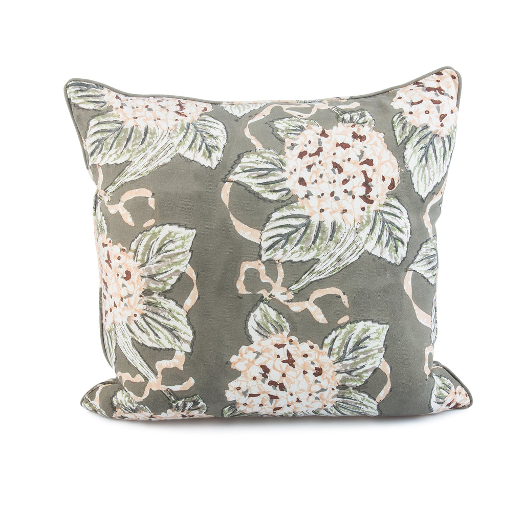 Pyar&Co. Hydrangea Pillow Cover by INKA