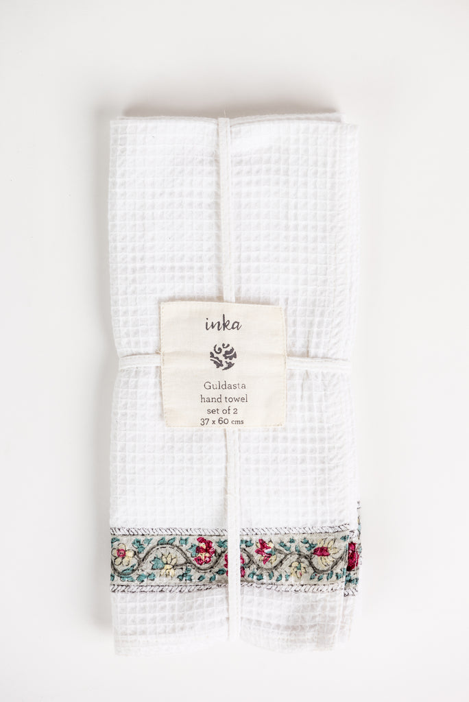 Guldasta Hand Towel Set of 2