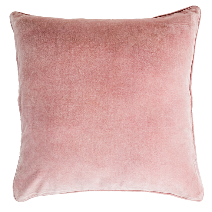Light Pink Velvet Pillow Cover