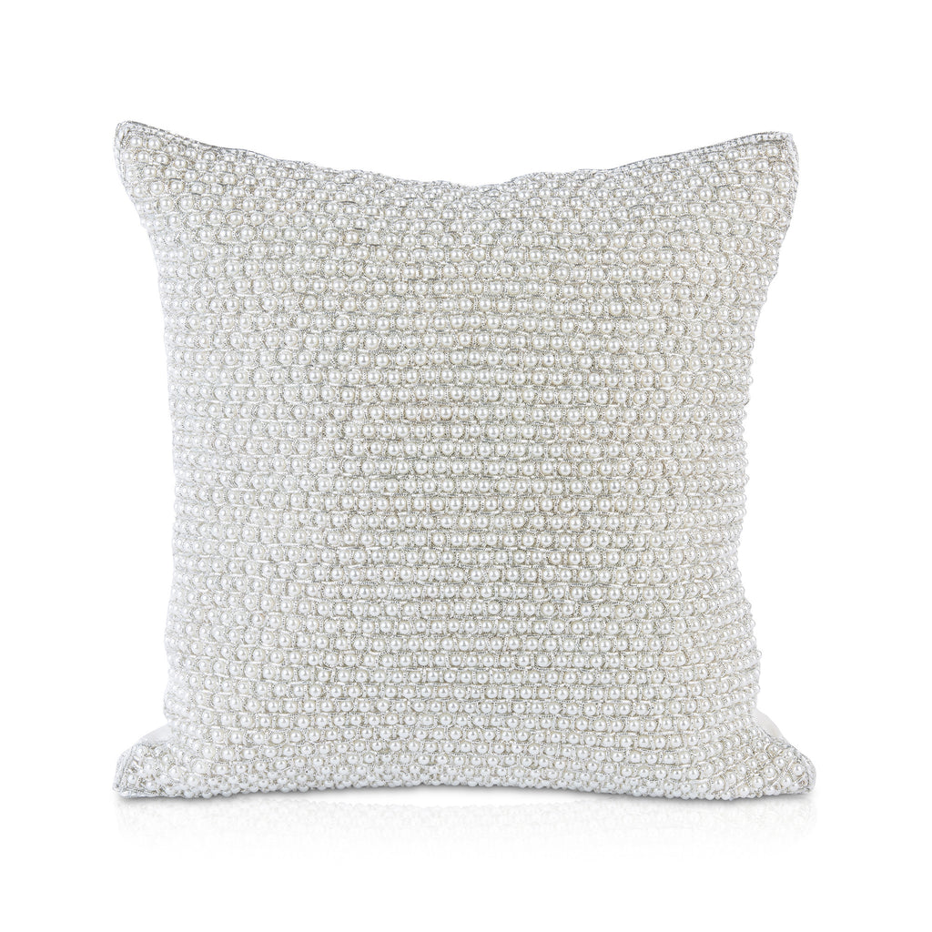 Pyar&Co. Silver Jaal Pillow, 12x12