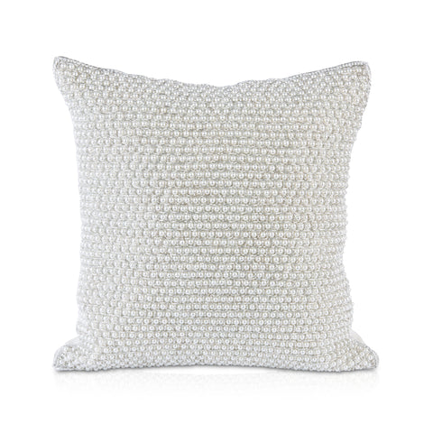 Pyar&Co. Jaal Pillow, Silver12x12
