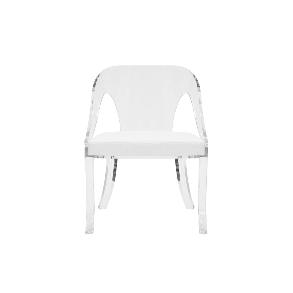 Duke White Chair