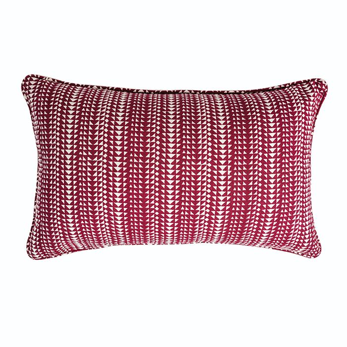Pyar&Co. Kikri Red Pillow by INKA