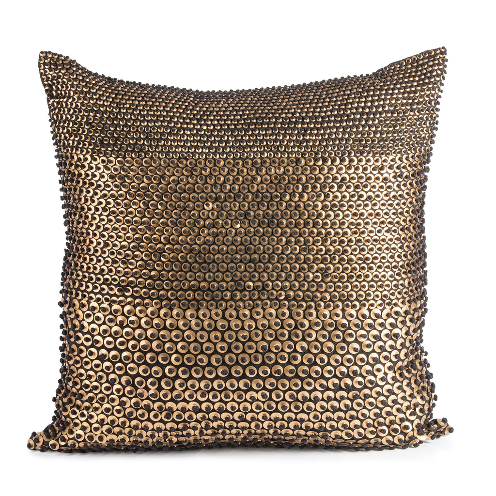 Pyar&Co. TARI, Black Linen Pillow