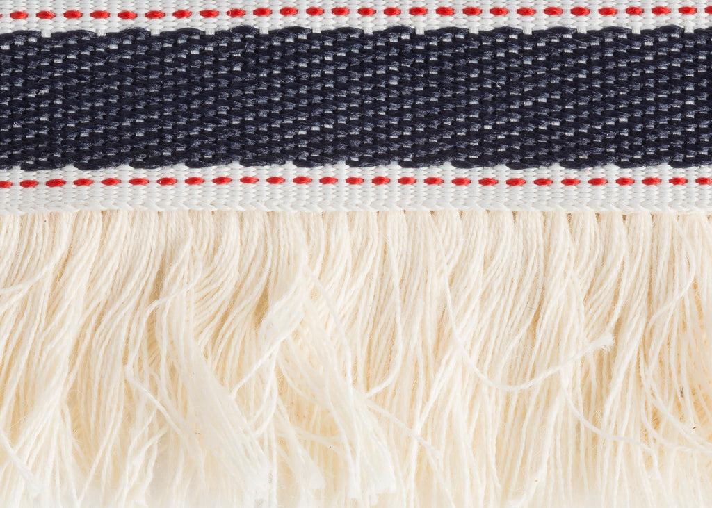 Parallel Red & Blue Trim by Trellis Home with Pyar&Co.