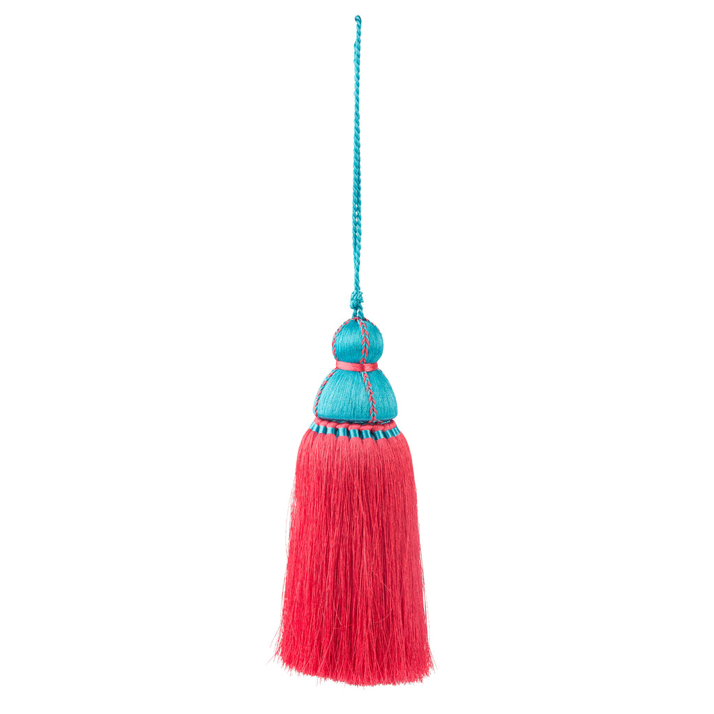Pink & Light Blue Tassel, Trellis Home Tassels & Trims Collection with Pyar&Co.