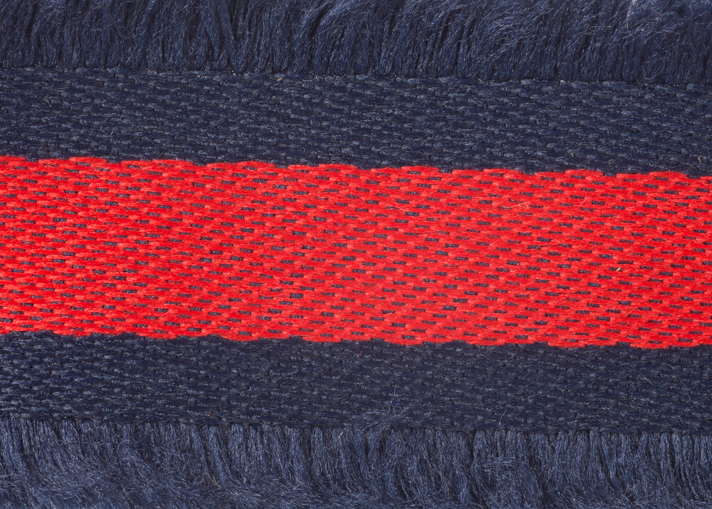 Pyar&Co. Eyelash Trim, Navy & Red