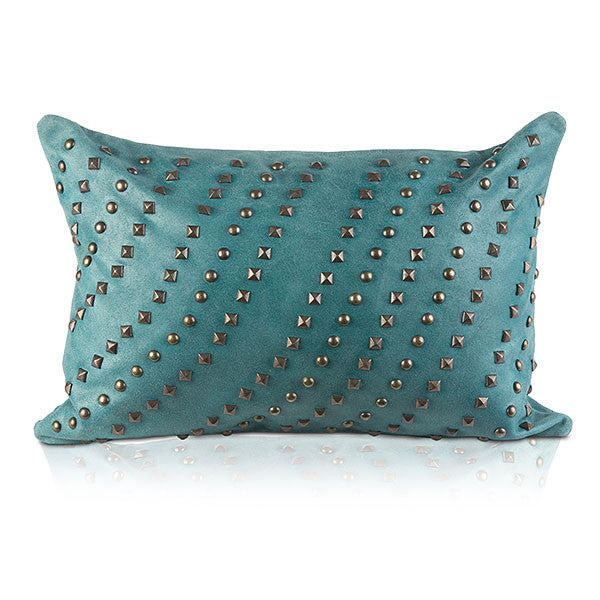 Pyar&CO. Blue TARAK Lumbar Pillow Cover