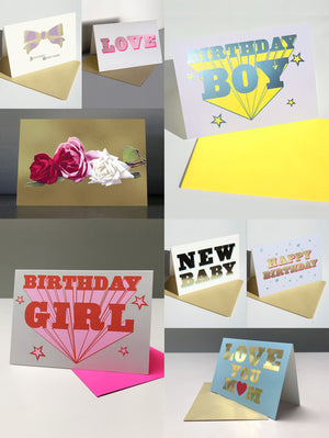 BESPOKE BOX GIFT SET x24  CARDS - YOU CHOOSE