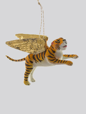 WINGED TIGER BAUBLE