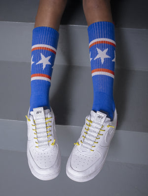 DANDY STAR BLUE STAR SPORT SOCK