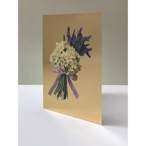DANDY STAR GOLD BOUQUET GREETING CARD