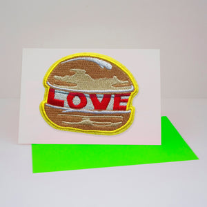 DANDY STAR LOVE BURGER PATCH - Dandy Star