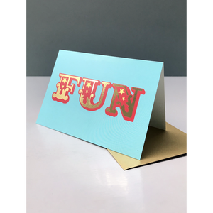 FUN GREETING CARD