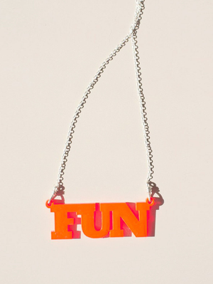 NEON EDGE FUN NECKLACE