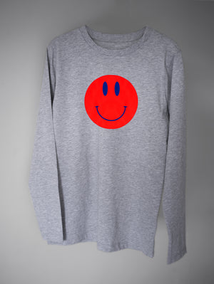 DANDY STAR SMILEY T-SHIRT - MARL