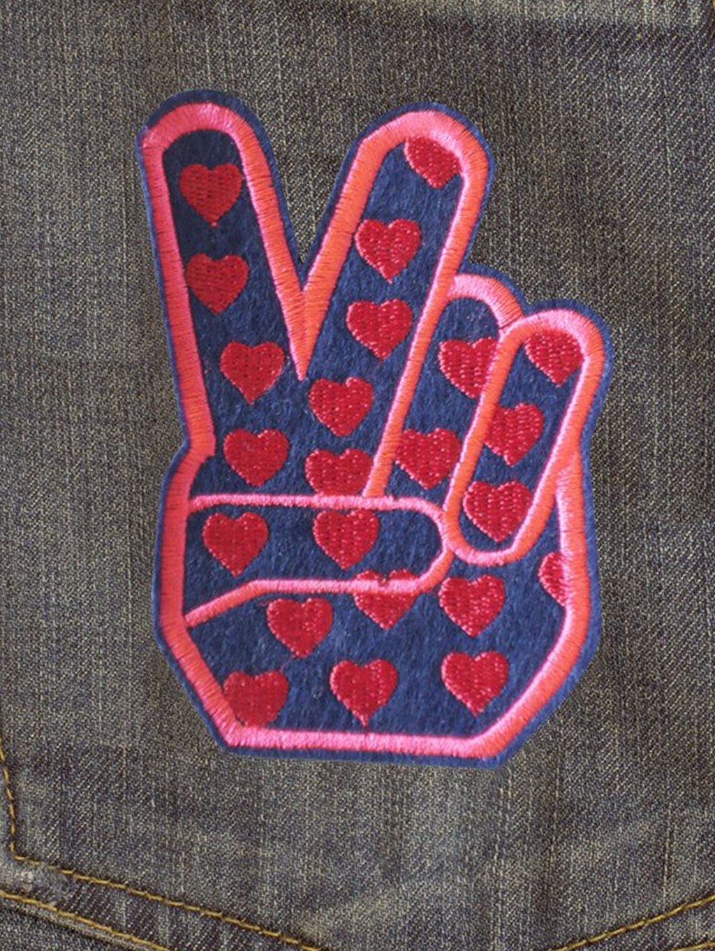 DANDY STAR PEACE HEARTS PATCH