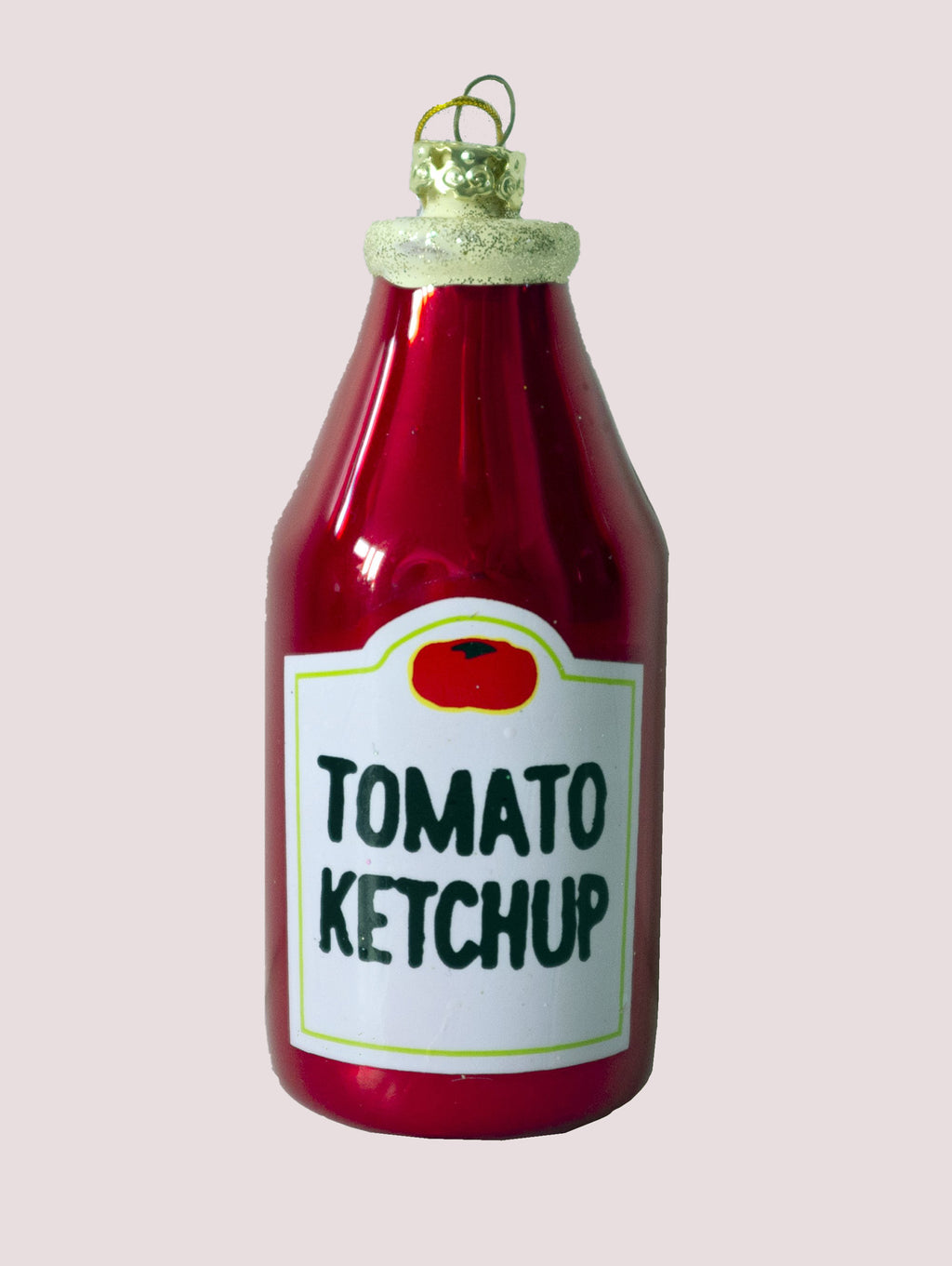 KETCHUP BOTTLE BAUBLE