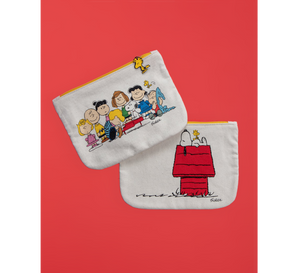 PEANUTS SNOOPY GANG POUCH