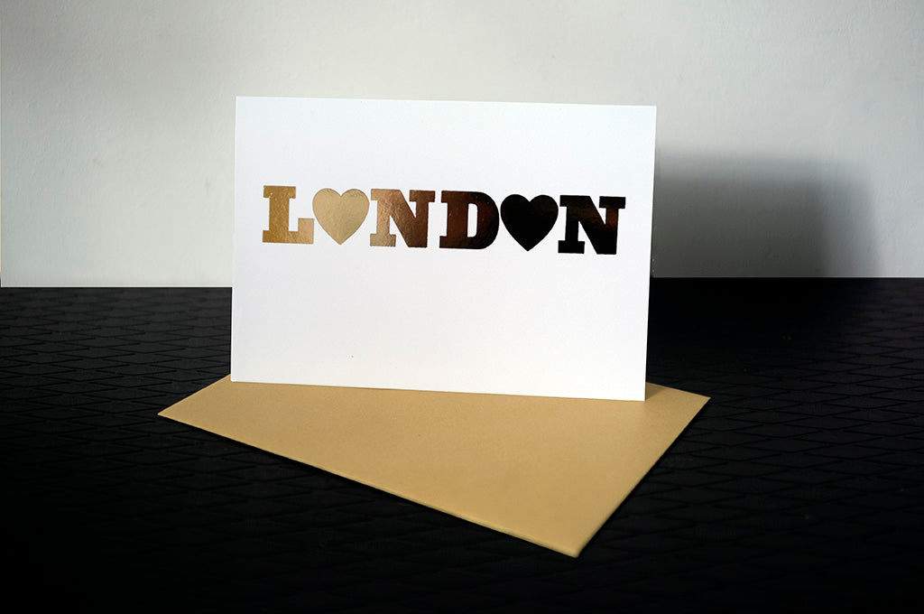 DANDY STAR LONDON GREETING CARD