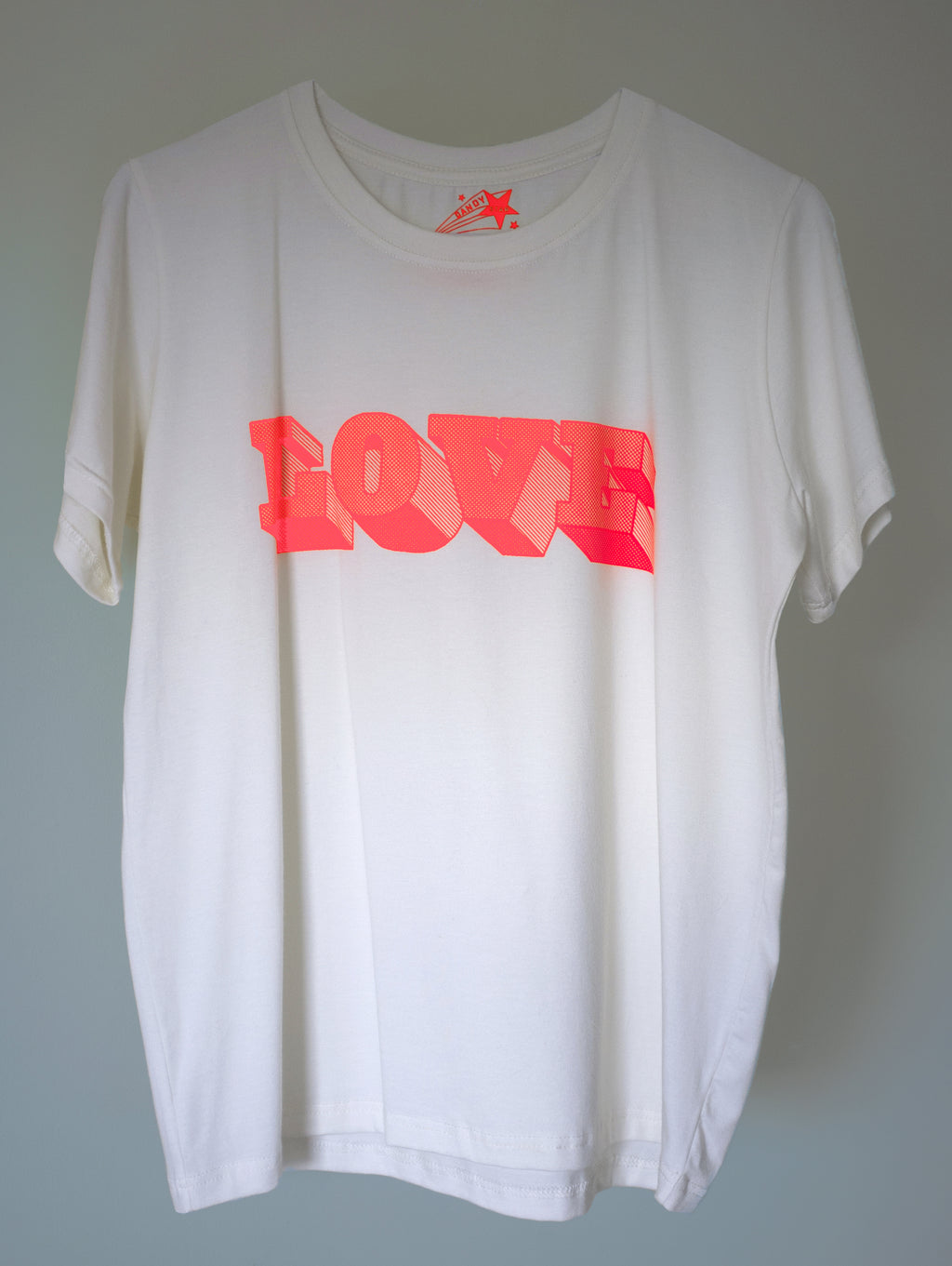 LOVE 21 FLOURO T-SHIRT