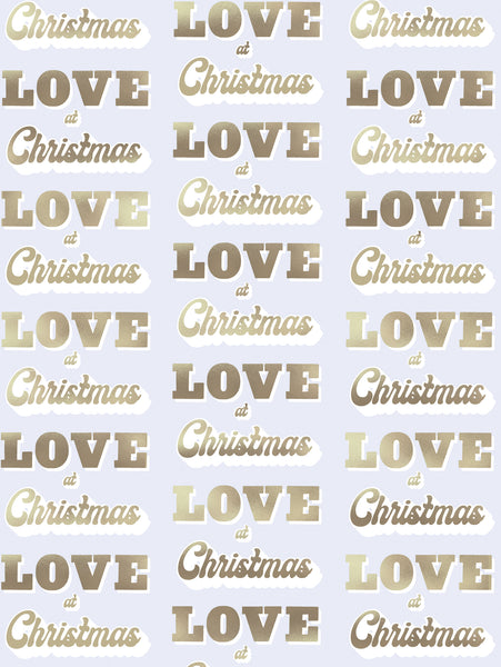 LOVE AT CHRISTMAS WRAP