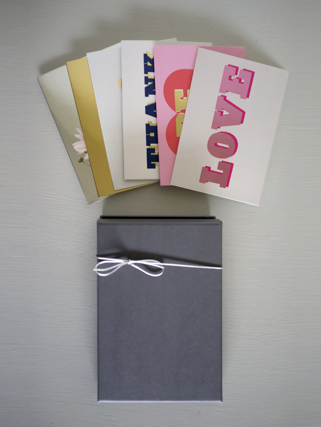 LOVE BOX SET X 6 CARDS