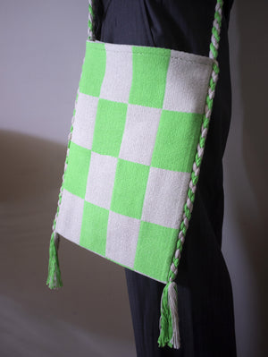 CHEQUER PERU HOLIDAY BAG