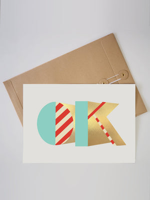 OK FOIL A4 LIMITED EDITION PRINT