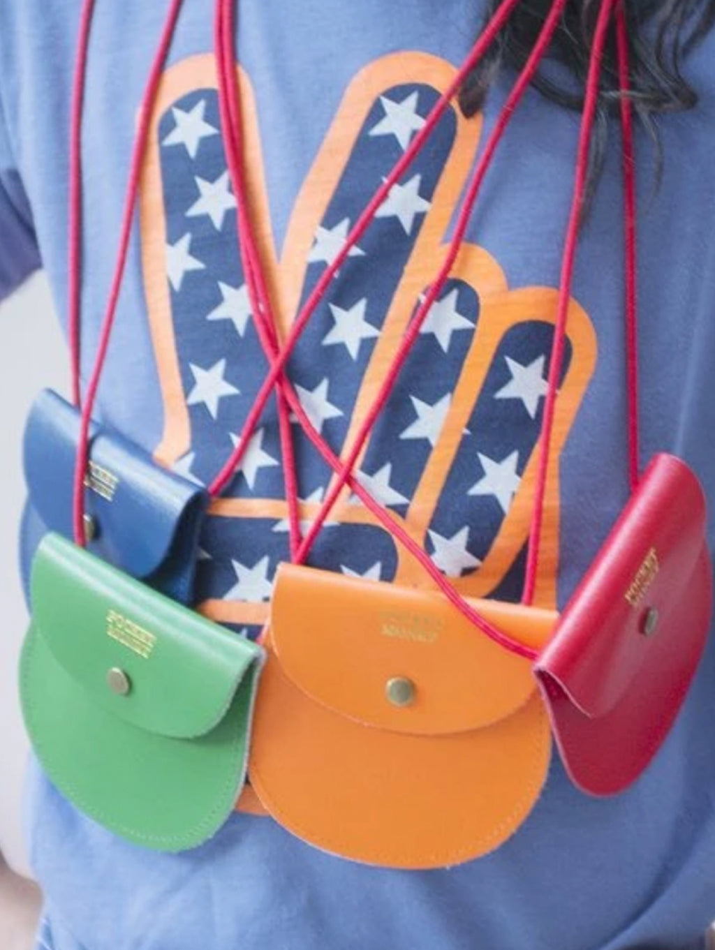 POCKET MONEY PURSE : 6 COLOURS / 3 STYLES