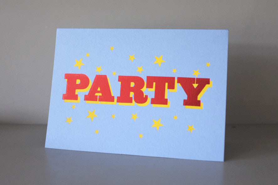 PARTY CARD - Dandy Star