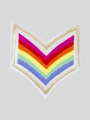 DANDY STAR CAPTAIN RAINBOW PATCH