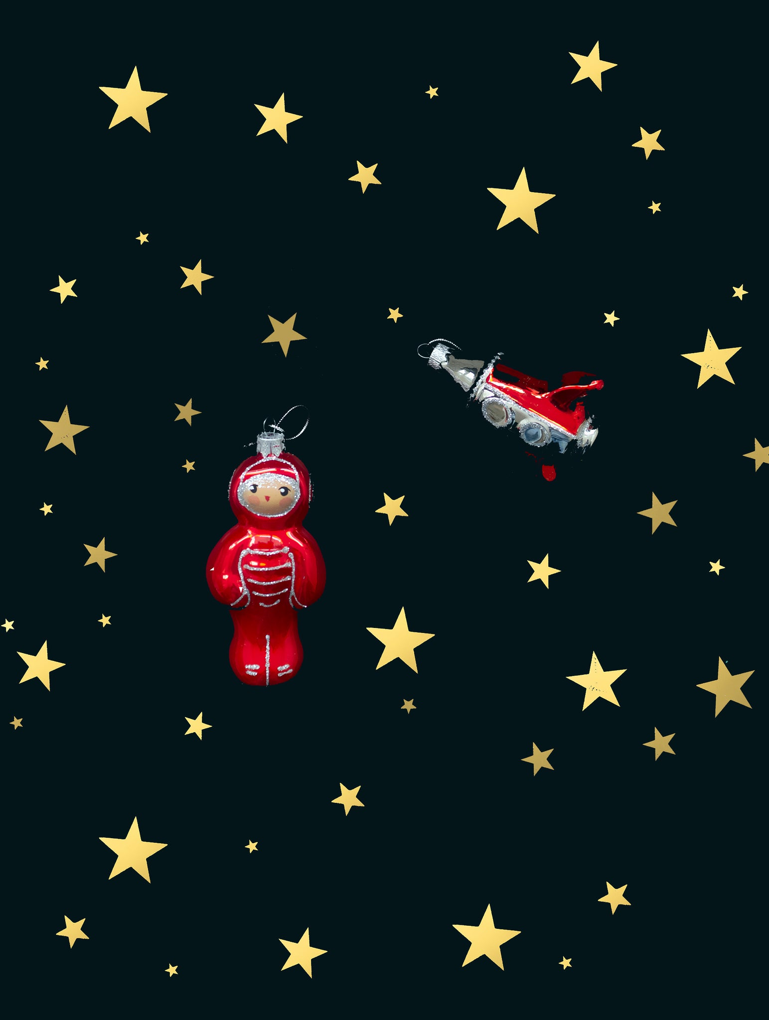 ROCKET BAUBLE