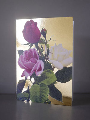 DANDY STAR VINTAGE ROSES GREETING CARD