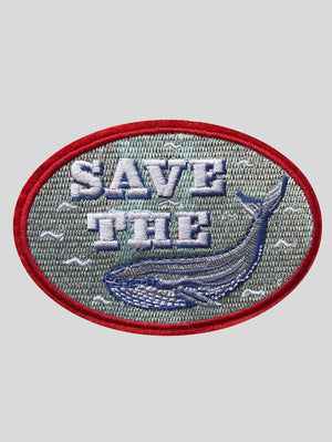 DANDY STAR SAVE THE WHALE PATCH