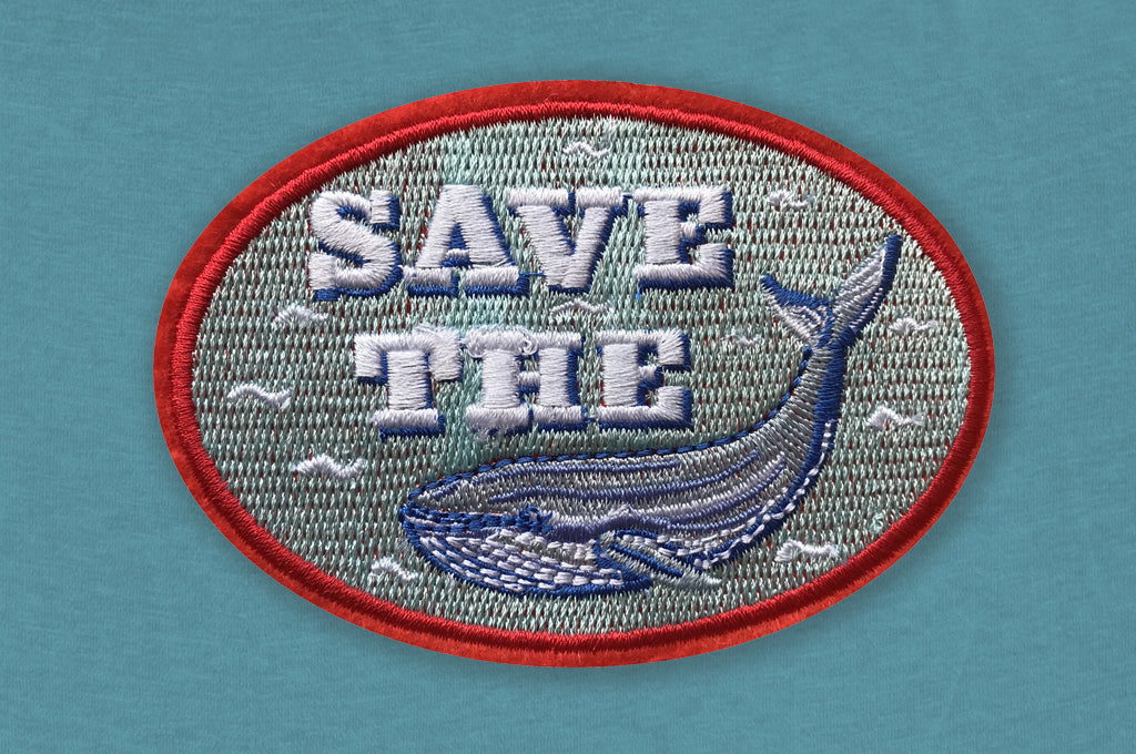 DANDY STAR SAVE THE WHALE PATCH - Dandy Star