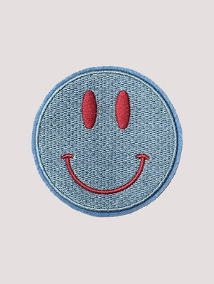 SMILEY BLUE PATCH